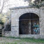 Parco Filiani, struttura esterna seconda cisterna