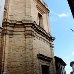 Davanti alla chiesa di S. Antonio