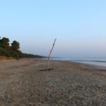 Sulla spiaggia della zona B